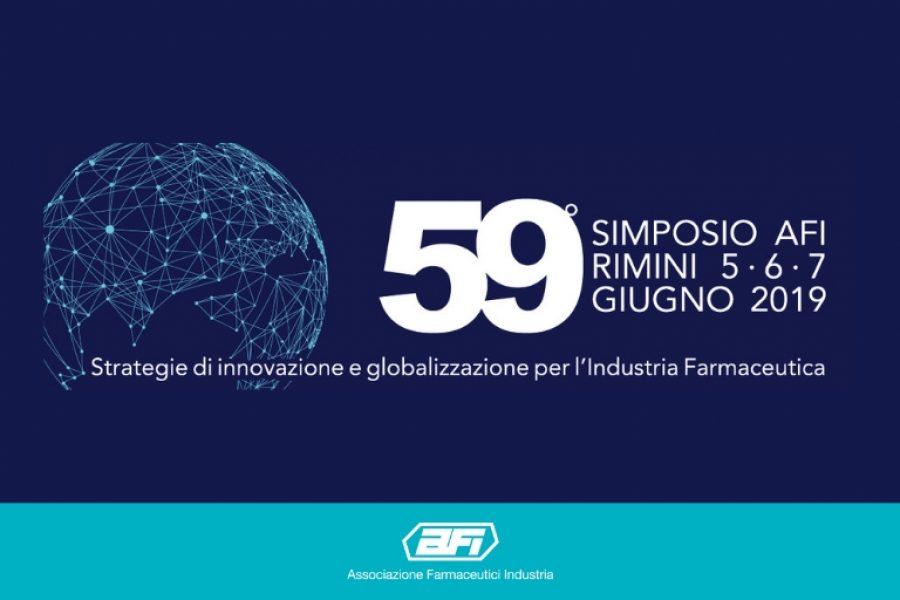 Comunicato Stampa: 59° Simposio AFI | Dal 5 al 7 giugno a Rimini l'evento che riunisce i più importanti attori del settore farmaceutico