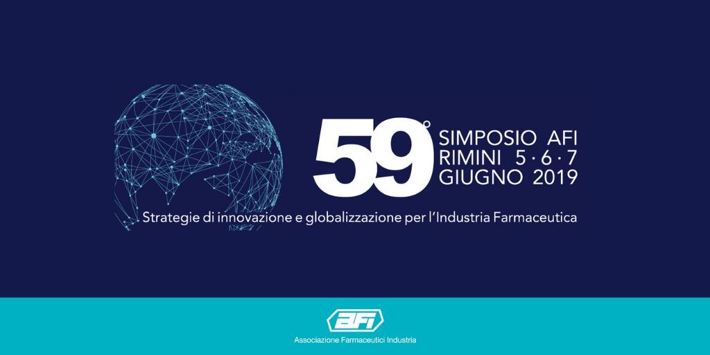 Comunicato Stampa: 59° Simposio AFI   Dal 5 al 7 giugno a Rimini l'evento che riunisce i più importanti attori del settore farmaceutico