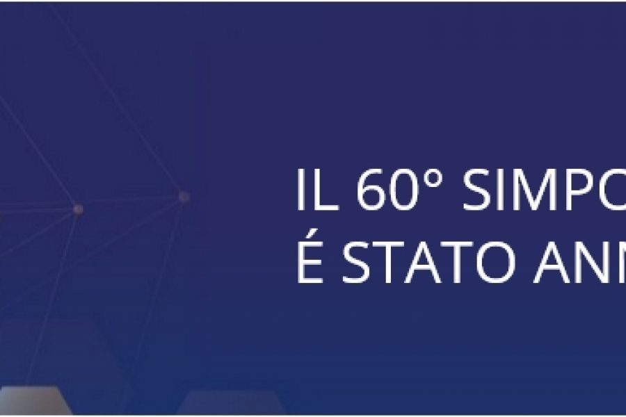 ANNULLAMENTO 60° SIMPOSIO AFI