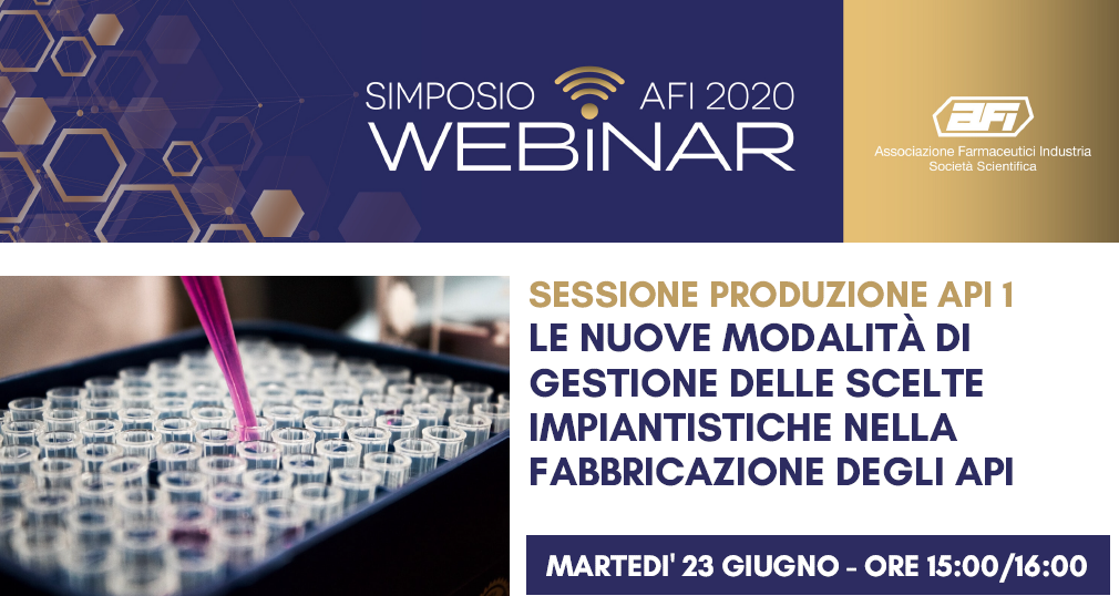 SIMPOSIO AFI DIGITAL – SESSIONE PRODUZIONE API 3 – NITROSAMINES INDUSTRIAL CHEMISTRY: A TOOL FOR A COMMON UNDERSTANDING BETWEEN API & PHARMA