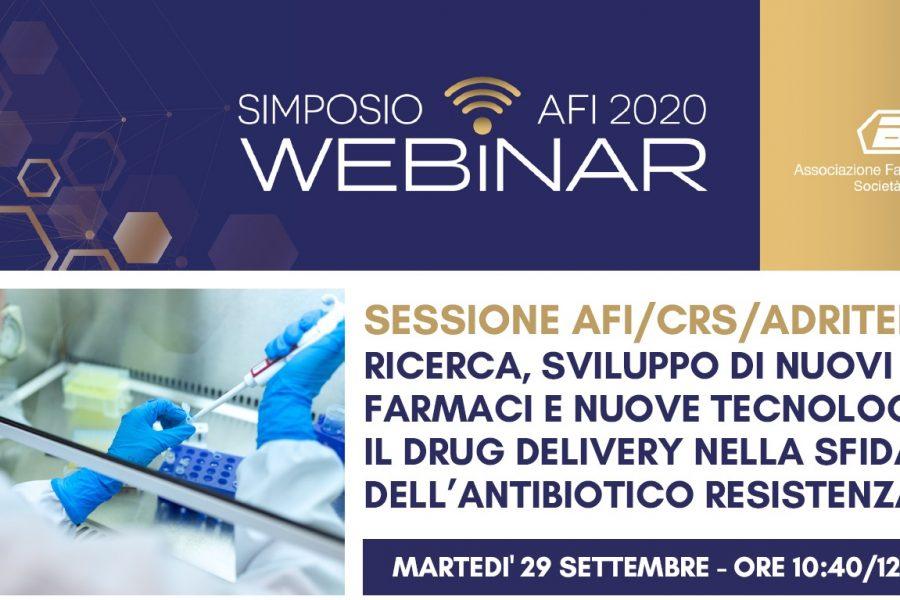 SIMPOSIO AFI DIGITAL – SESSIONE AFI/CRS/ADRITELF
