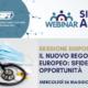 WEBINAR SESSIONE DISPOSITIVI MEDICI – IL NUOVO REGOLAMENTO EUROPEO: SFIDE ED OPPORTUNITÀ
