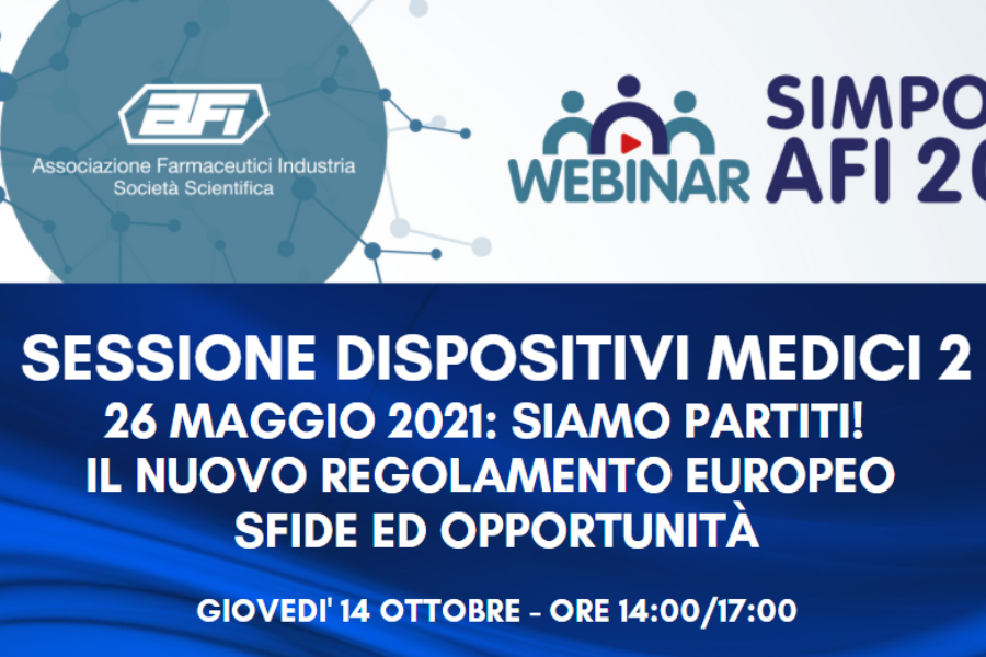 LIVE WEBINAR SESSIONE DISPOSITIVI MEDICI 2